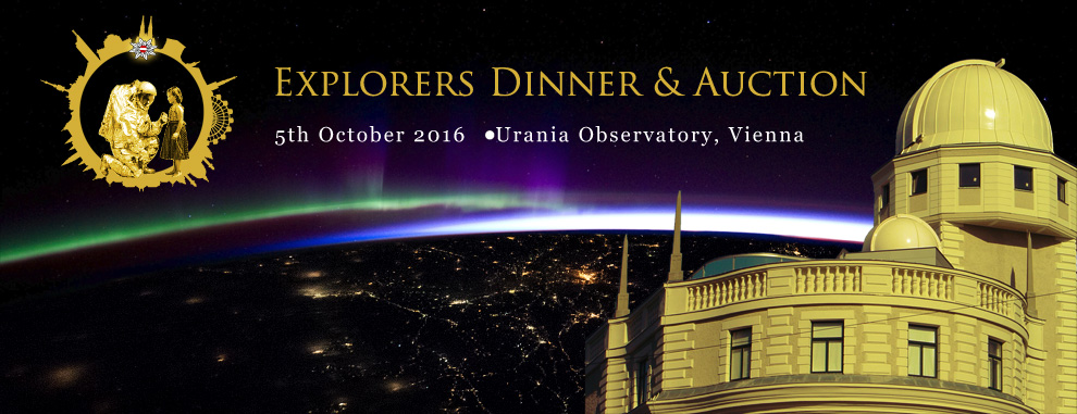 Explorers Dinner & Silent Auction [Tickets available]