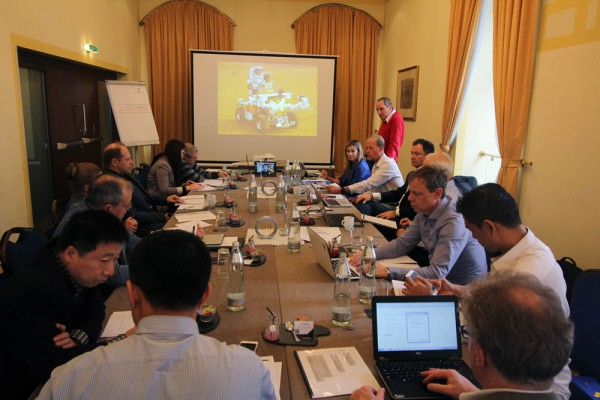 ASE Executive Committee Meeting, 1st April 2016